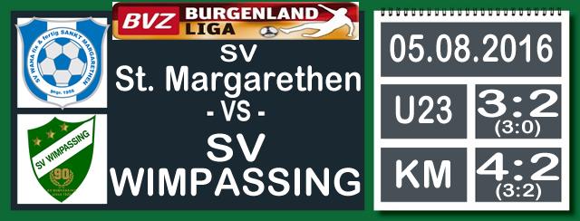 Niederlage in St. Margarethen – 4:2 (3:2)
