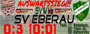 Eberau – SVW  0:3 (0:0)