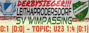 Leithaprodersdorf – SVW  0:1 (0:0)