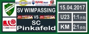 SVW – Pinkafeld 2:1 (0:0)
