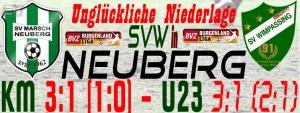 Neuberg – SVW  3:1 (1:0)