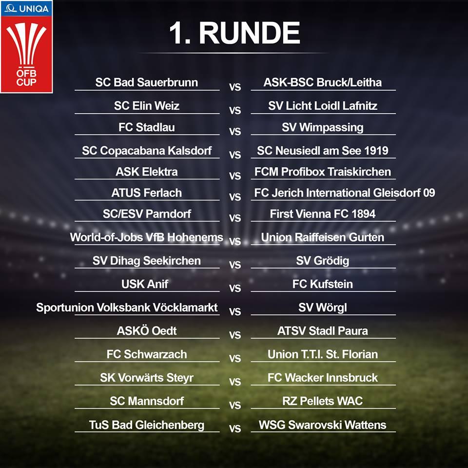 ÖFB Cup Runde 1
