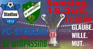 ÖFB-Cup – auswärts beim FC Stadlau