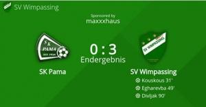 BFV-Cup SK Pama-SVW 0:3 (0:1)