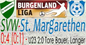 SVW-St.Margarethen 0:4 (0:1)