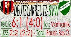 Deutschkreutz-SVW  6:1 (1:0)