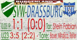 SVW-Drassburg  1:1 (0:0)
