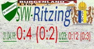 SVW-Ritzing 0:4 (0:2)