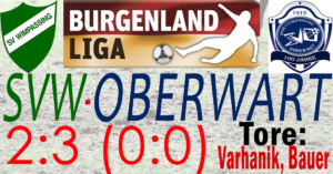 SVW-Oberwart 2:3 (0:0)