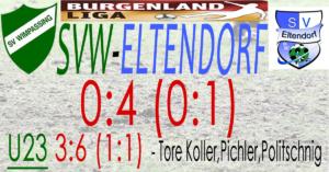 SVW-Eltendorf 0:4 (0:1)