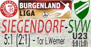 Siegendorf-SVW  5:1 (2:1)