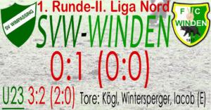 SVW-Winden 0:1 (0:0)