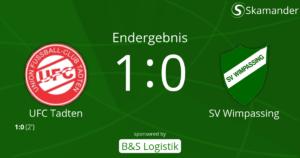 Tadten-SVW 1:0 (1:0)