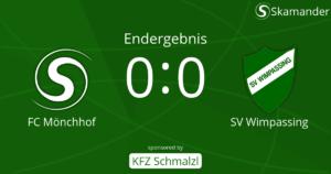 Mönchhof-SVW 0:0